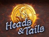 Отыгрыш бездепозитного бонуса в виртуальном аппарате Heads Tails