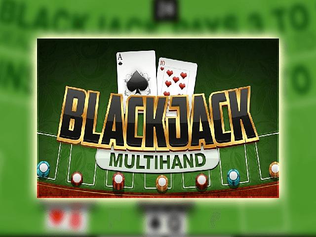 Карточный автомат с призами Blackjack Multihand 3 seats